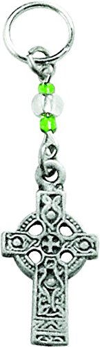 Cathedral Art (Abbey & CA Gift) 2-Inch Celtic Cross Key Ring Charm