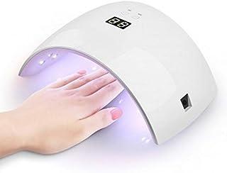 NAIL SYSTEM PROFESSIONAL - Lámpara de uñas UV LED de 36 W para manicura, secador de uñas portátil profesional con sensor automático, pantalla temporizador de 30s, 60s - Specail Design