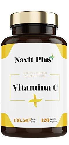 NAVIT PLUS Vitamina C 1000 mg Suplemento nº1 en Vitamina C pura. Desarrollado y fabricado en España.