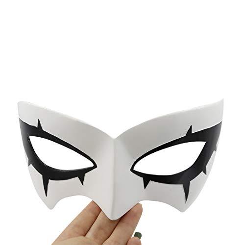 Persona 5 Hero Arsène Protagonist Kurusu Akira Joker Cosplay Eye Mask White