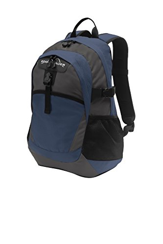 Eddie Bauer Ripstop Backpack, Coast Blue/Grey Steel, One Size