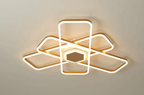 ZCCL Lámpara de Techo led para Dormitorio con Marco de Aluminio, atmósfera Moderna y Sencilla, lámpara de Comedor para Dormitorio y Sala de Estar nórdica para el hogar (D78 * 10CM29W)
