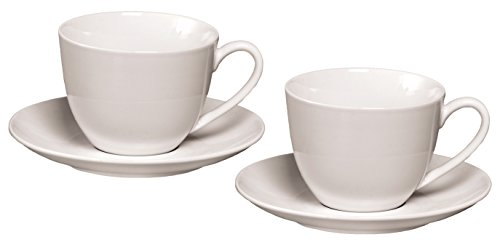 Ritzenhoff & Breker Cappuccino-Set Bianco, 4 teilig, 300 ml