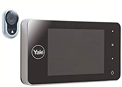 Yale 45–4500–1440–00–60–01Mirilla Digital 4500Memory +, Plateado