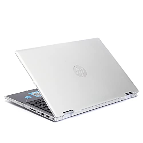 Fundas Dura mCover Compatible con laptops HP Pavilion x360 Serie 14-DWxxxx (no Compatible con Otras Series HP Pavilion) (14 Pulgadas, Transparente)