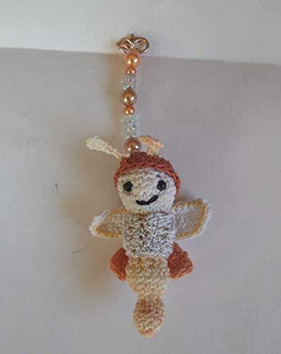 Anleitung gehäkeltes Glühwürmchen; Crochete Pattern Firfly;