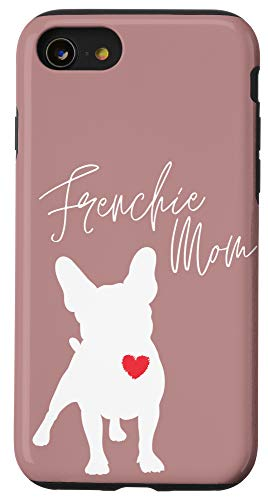 iPhone SE (2020) / 7 / 8 Frenchie Mom French Bulldog Misty Brown Case