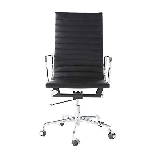Xinyexinwang Ergonomischer Bürostuhl,Drehstuhl mit Verstellbarer Sitzhöhe, anpassbaren Armlehnen, Rückenlehne mit Gewichtsautomatik