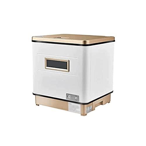 Sdesign Tablero Totalmente automático Top Lavavajillas Permanente Libre 3 en 1 Máquina de Lavado de Platos de Secado, Spray Giratorio 360 ° Azimut rápido, Fruta y Limpieza de Vegetales