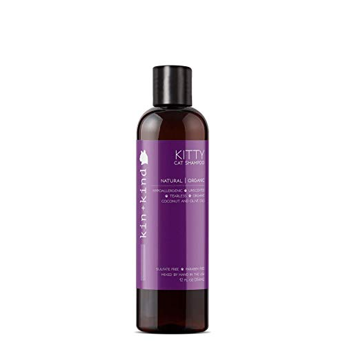 kin+kind Kitty Shampoo: Tearless, Natural, Organic, Hypoallergenic, and...