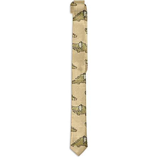 Preisvergleich Produktbild Ideale Geschenke Neuheit Polyester Seide Little Alligator Krawatten Party Date Hochzeit Gentleman Bräutigam Groomsman Tie Krawatte