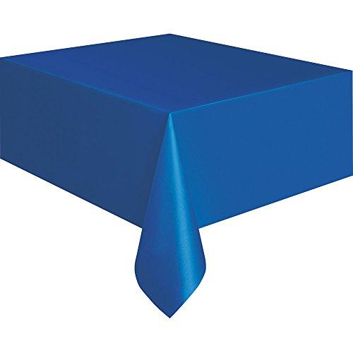Nappe en Plastique Bleu Roi 274,3 x 137,2 cm