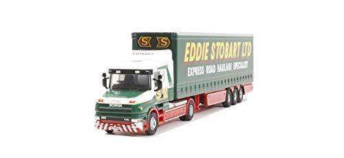 Oxford Diecast STOB010 Eddie Stobart Scania T Cab Curtainside