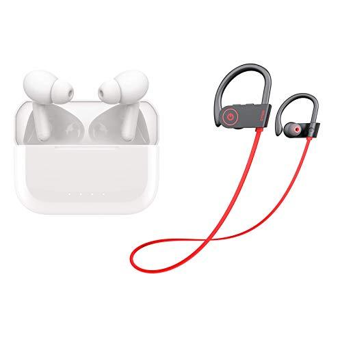 Otium Bluetooth Sports Headphones with IPX7 Waterproof and P3 Wireless...