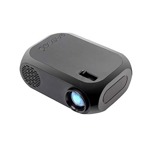 Proyector 3D Full HD, 400-600 Lums, Soporte De 20-80 Pulgadas, Interfaz HD USB/AV/HDMI, Teatro Inicio LCD LCD Player Media Porense Portable