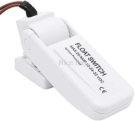 20 AMP Automatic Translated Electric Pump Switch Controll DC12V 2021 new Level Float