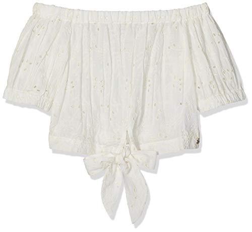 Mexx Mädchen Bluse, Weiß (Marshmallow 114300), (Herstellergröße: 164)