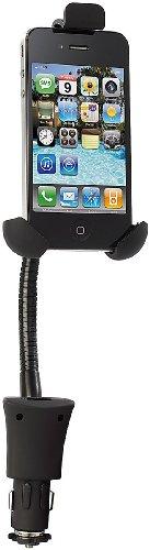 Callstel Kfz Ladegeräte: Kfz-Halterung mit USB-Ladefunktion für Smartphones bis 4,5
