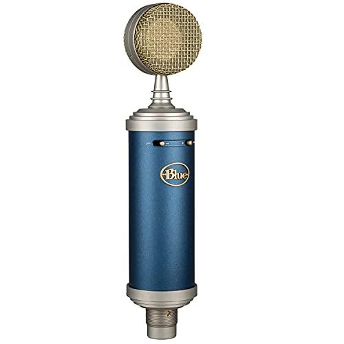Blue Microphones Bluebird SL XLR コンデンサーマイク ブルー BM1200 プレミアムショックマウント 木製ストレージボックス ストリーミング レコーディング コンデンサー マイク 国内正規品