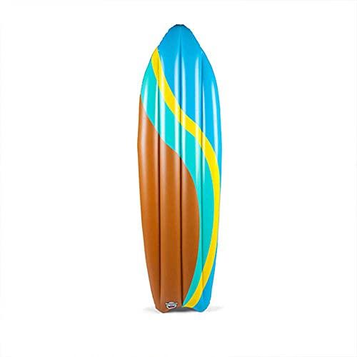 Tumbona de playa, Balsa flotante de la piscina inflable, diversión infantil cubierta de surf inflable con flotación flotante divertido colchón de aire flotante inflable, juguete de la playa de la nove