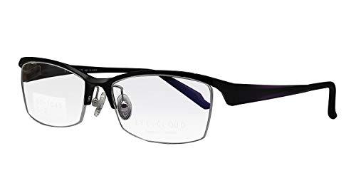 鯖江ワークス(SABAE WORKS) 遠近両用メガネ 格好いい フリーフィット EC1043 (遠近両用 度数+1.50, C2 ブラック)