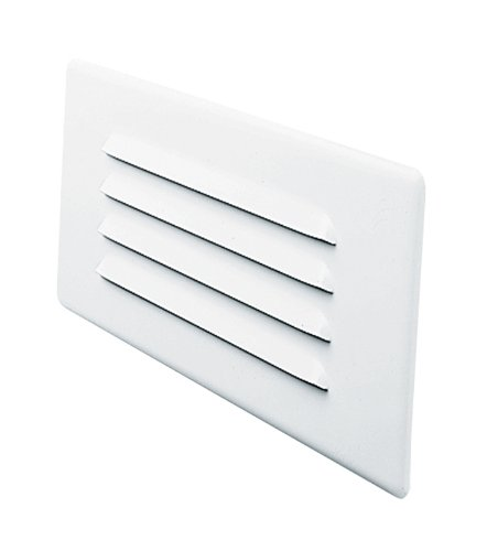 Juno Lighting Group 840-WH CFL Indoor Step Light Louver Trim, White Finish