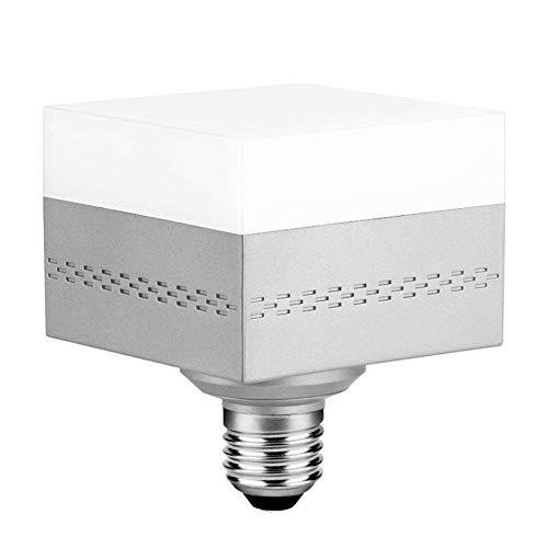 Led Light Bulbs 28W (150-200 Watt Equivalent) E26 E27 Led Shop Light,3000LM Square Light for Home Lighting,Bedroom Etc.