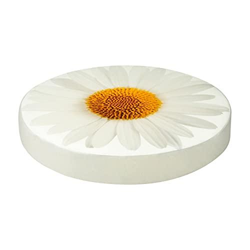 SANDINI Cojín Motivo de la Flor - Decoración para hogar y jardín - 38 x 6 cm