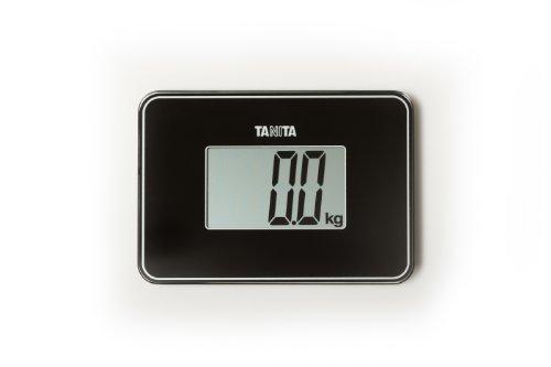 Tanita HD-386 - Báscula de viaje, color negro