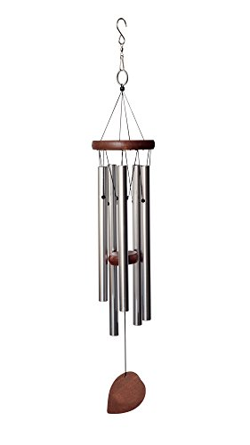 "BeckGear Unique Outdoor Aluminum tube 22"" Metal Wind Chimes, Beautiful Windchimes Producing Soothing Sounds"