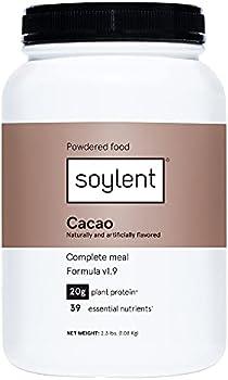 Soylent Complete Nutrition Gluten-Free Vegan Protein, 36.8 Oz