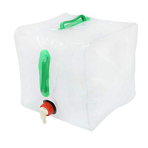 Vipithy 20L plegable plegable al aire libre Bolsa de agua potable Coche...
