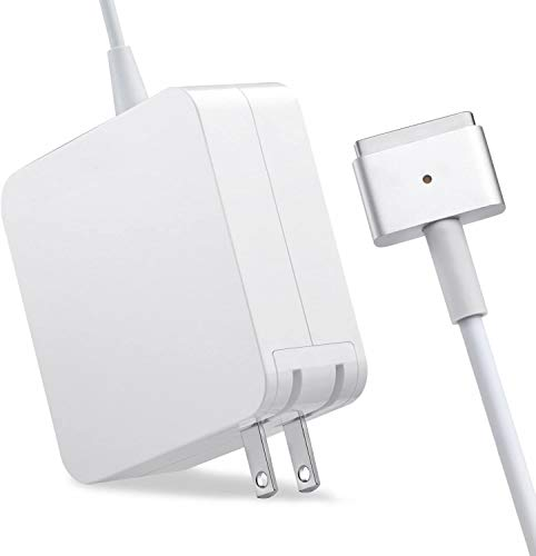 Mac Pro Charger Replacement for MacBook Pro with 13-inch Retina Display After 2012 Ac 60W T-Tip Power Adapter Connector