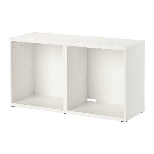 Ikea BESTA - Mueble para TV (120 x 40 x 64 cm), color blanco