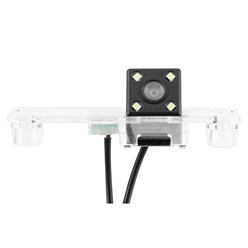 Cámara de visión trasera, monitorización de visión trasera, cámara de vídeo digital CCD para coche, cámara de visión trasera para efecto de visión nocturna, pista de marcha atrás para coche