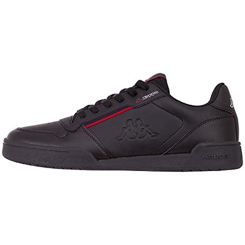 Kappa Marabu 242765-1120 męskie sneakersy, czarny - Czarny Black Red 1120-41 EU