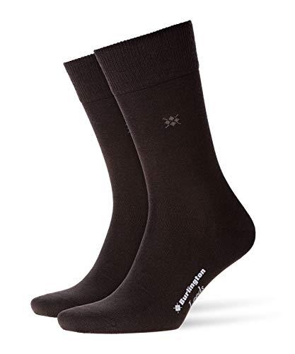 Burlington Herren Leeds M SO Socken, Blickdicht, Braun (Brown 5930), 40-46 (UK 6.5-11 Ι US 7.5-12)