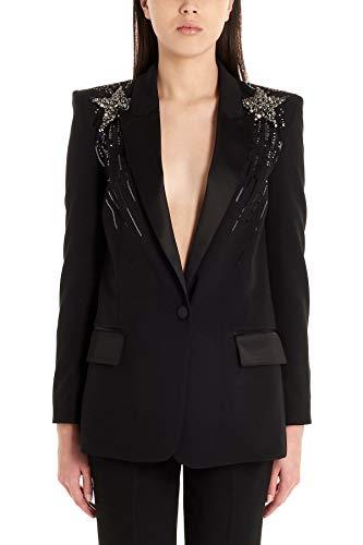Liu Jo Luxury Fashion Damen CA0180T789622222 Schwarz Polyester Blazer | Frühling Sommer 20