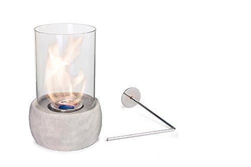 Glasfeuer Stone Tischkamin Feuerstelle Kamin Tischfeuer Bio Ethanol