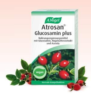 A.Vogel Atrosan Glucosamin vegan Tabletten zur Aufrechterhaltung normaler Gelenksfunktion mit Hagebutte, Acerola und veganem Glucosamin 60Stk.