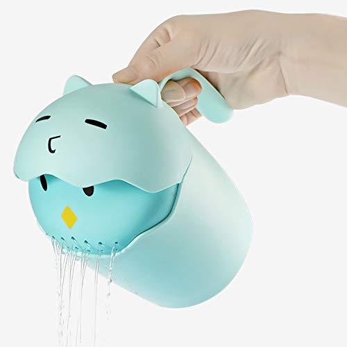 Amiao Champú para bebé Taza de champú Baño Ducha Aspersor Cuarto de baño Accesorios para Lavar Pelo y Lavado Champú