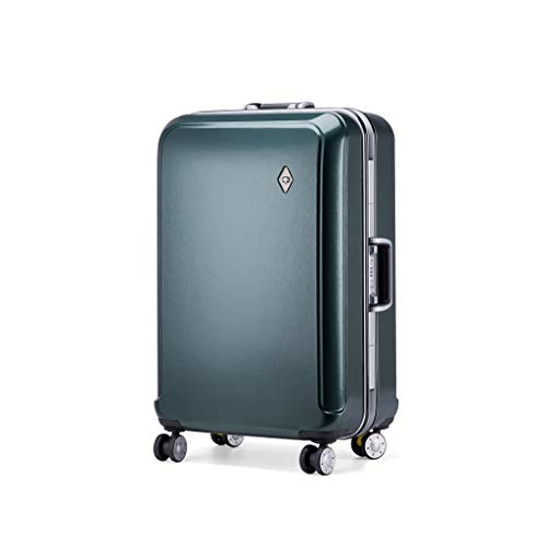 DKH-Suitcases Aluminum Frame 22 Inch Luggage Sets Suitcases Carry-Ons Bag Wheels Lightweight Travel Withcase Suitcaseshand