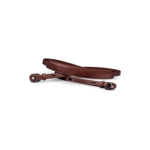 Leica Leather Carrying Neck Strap, Vintage Brown