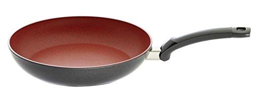 Fissler SensoRed 28cm Ø/Induktion geeignet-157-303-28-100/0 Anti-Haft Pfanne, Aluminium, rot, 28 cm