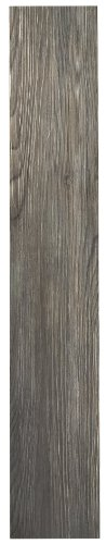 Achim Home Furnishings VFP2.0SS10 3-Foot by 6-Inch Tivoli II Vinyl Floor Planks, Spruce Silver, 10-Pack, 10 Pack