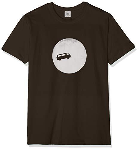 Texlab - Full Moon Bulli T3 - Herren T-Shirt, Größe M, braun