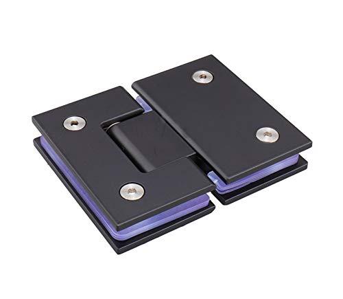 Bisagra para puerta de cristal 90 grados soporte de pared sin marco clip para puerta de ducha de cristal 8-12 mm