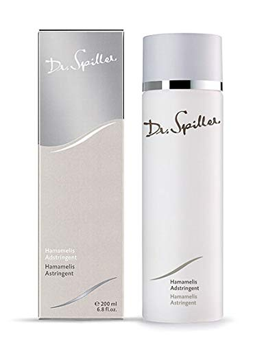 Dr. Spiller - Hamamelis Adstringent | Mildert Hautirritationen | Entzündungshemmend und antibakteriell | Belebendes Gesichtswasser