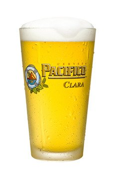 Pacifico Cerveza Mexican Beer Pint Glass | Set of 2 Glasses