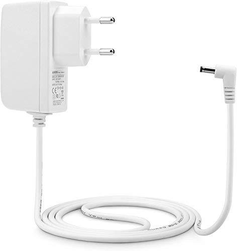 Aukru 6V Netzteil Babyphone Ladekabel Ladegerät für Philips Avent SCD501/00 DECT Babyphone Parent-Einheit (Weiß)